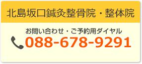 坂口鍼灸整骨院・整体院:088-678-9291
